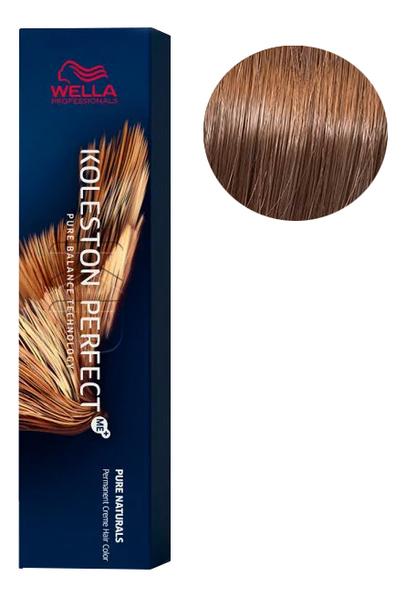 Стойкая крем-краска для волос Koleston Perfect Color Pure Naturals 60мл: 7/03 Осенняя листва крем краска для волос indola color red