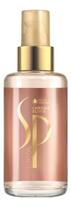 Интенсивный эликсир для защиты цвета волос SP Chroma Elixir 100мл восстанавливающий эликсир для волос sp luxeoil reconstructive elixir эликсир 30мл