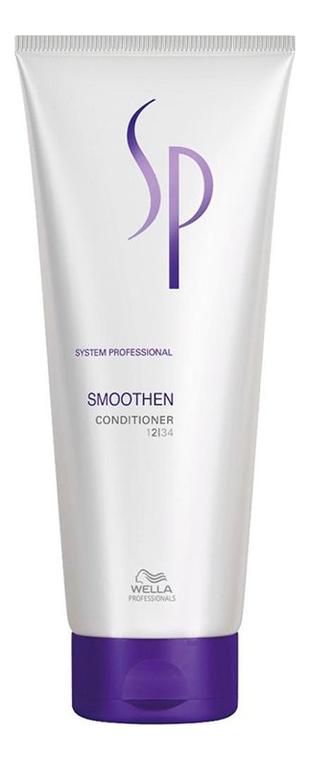Кондиционер для гладкости волос SP Smoothen Conditioner: Кондиционер 200мл wella sp smoothen conditioner кондиционер для гладкости волос 200 мл