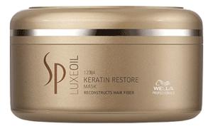 Маска для восстановления кератина Sp LuxeOil Keratin Restore Mask: Маска 150мл