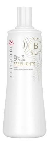 Окислитель для волос Blondor Freelights: Окислитель 9%