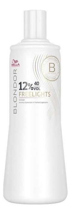 Окислитель для волос Blondor Freelights: Окислитель 12%