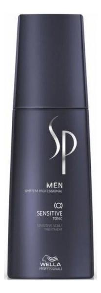 Тоник для чувствительной кожи головы SP Men Sensitive Tonic 125мл успокаивающий тоник для кожи головы semi di lino scalp relief sensitive skin calming tonic 125мл