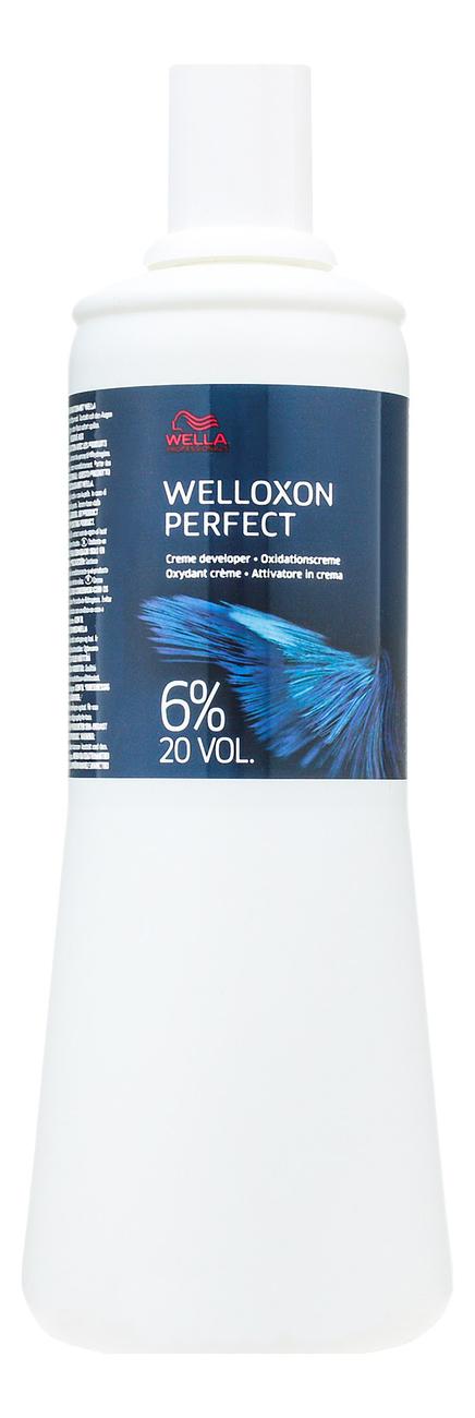 Окислитель Welloxon Perfect 6%: Окислитель 1000мл