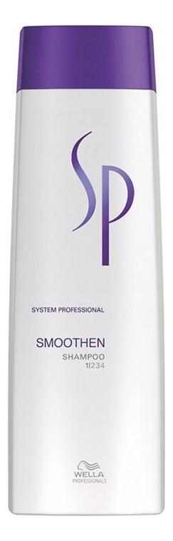 Шампунь для гладкости волос SP Smoothen Shampoo: Шампунь 250мл wella sp smoothen conditioner кондиционер для гладкости волос 200 мл