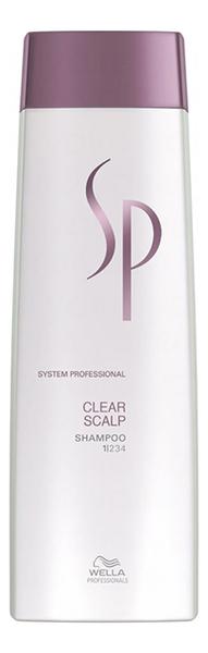 Шампунь против перхоти SP Clear Scalp Shampoo: Шампунь 250мл интенсивный успокаивающий шампунь против перхоти psoriane intensive shampoo soothing against flaky scalp 125мл