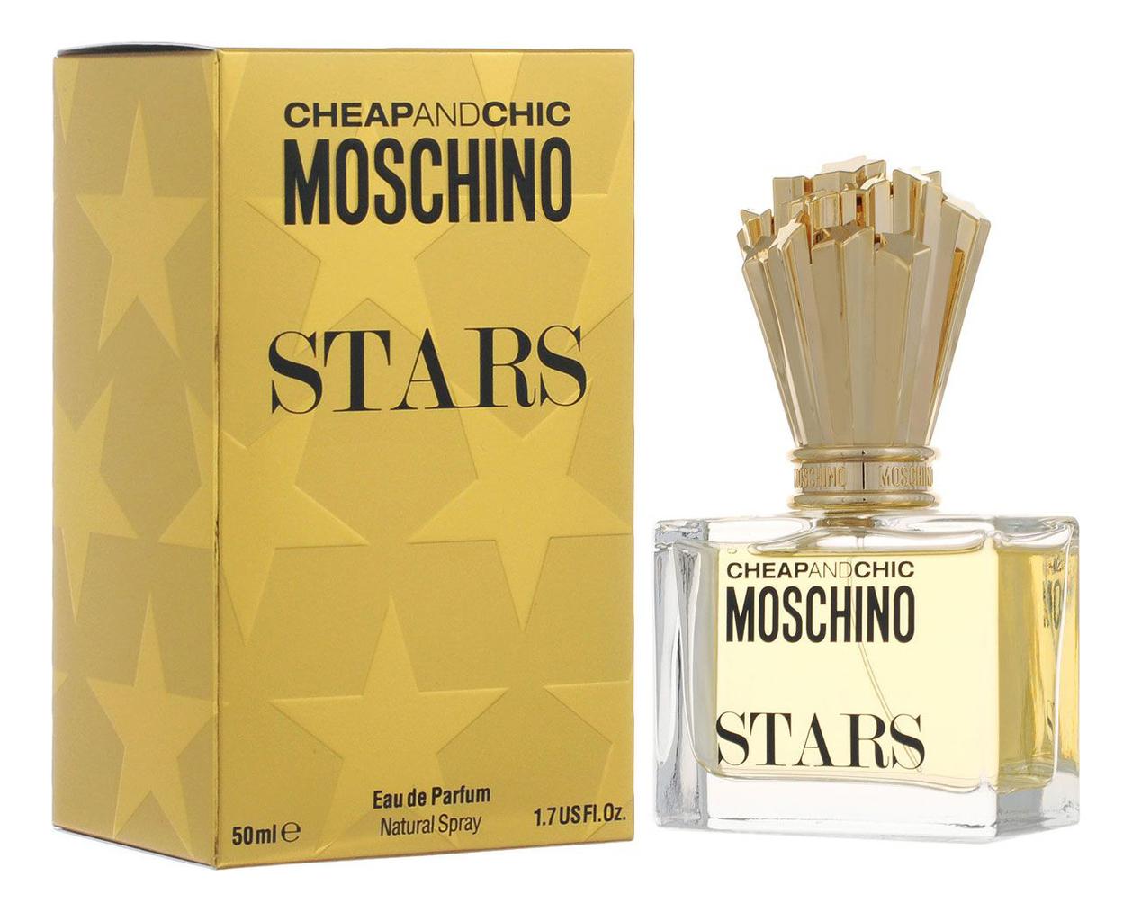 Moschino Cheap and Chic Stars: парфюмерная вода 50мл moschino stars