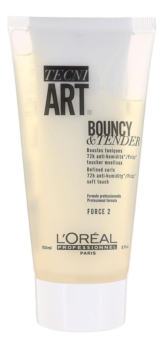 Крем-гель для создания локонов вьющихся волос Tecni. Art Dual Stylers Bouncy & Tender 150мл