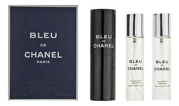 Chanel Bleu De Chanel Eau De Parfum: парфюмерная вода 3*20мл