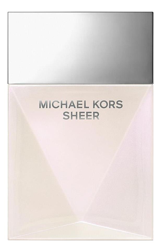 Michael Kors Sheer 2017: парфюмерная вода 30мл michael kors sheer 2017 парфюмерная вода 100мл
