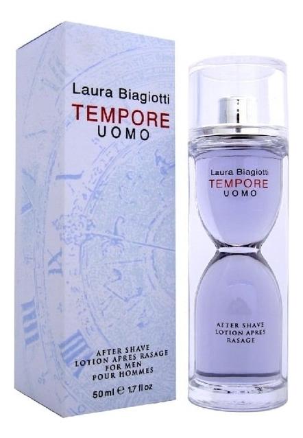 Laura Biagiotti Tempore Uomo: лосьон после бритья 50мл laura biagiotti due uomo