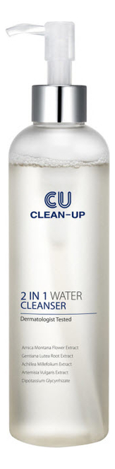 Очищающая вода для лица Clean-Up 2 In 1 Water Cleanser: Вода 200мл очищающая вода урьяж