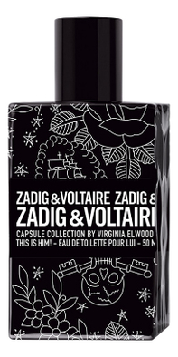 Zadig & Voltaire Capsule Collection This Is Him: туалетная вода 100мл сумка zadig
