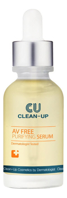 Сыворотка для проблемной кожи лица Clean-Up AV Free Purifying Serum: Сыворотка 30мл балансирующая сыворотка для лица 30мл