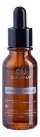 Регенерирующая сыворотка для лица Clean-Up Vitamin C+ Serum: Сыворотка 20мл сыворотка для лица с витамином с elements vitamin c serum 20мл