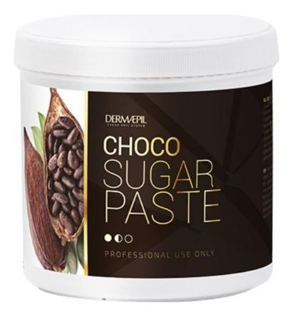 Сахарная паста для шугаринга Choco Sugar Paste 500г (шоколад)