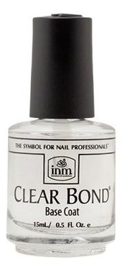 Прозрачная основа под лак Clear Bond Coat: Основа 14,8мл lady rose кератиновая основа под лак