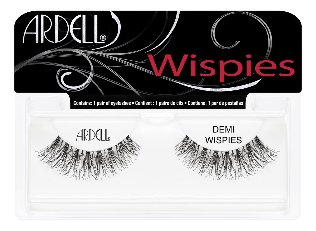 Накладные ресницы InvisiBand Lashes: Demi Wispies ardell магнитные накладные ресницы magnetic lashes double wispies черный