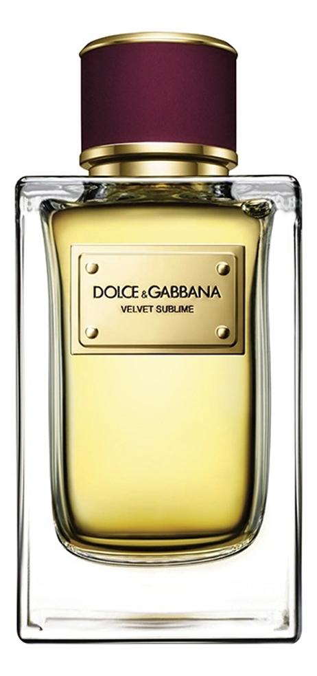 Dolce Gabbana (D&G) Velvet Sublime: парфюмерная вода 2мл d orsay l intrigante парфюмерная вода 2мл