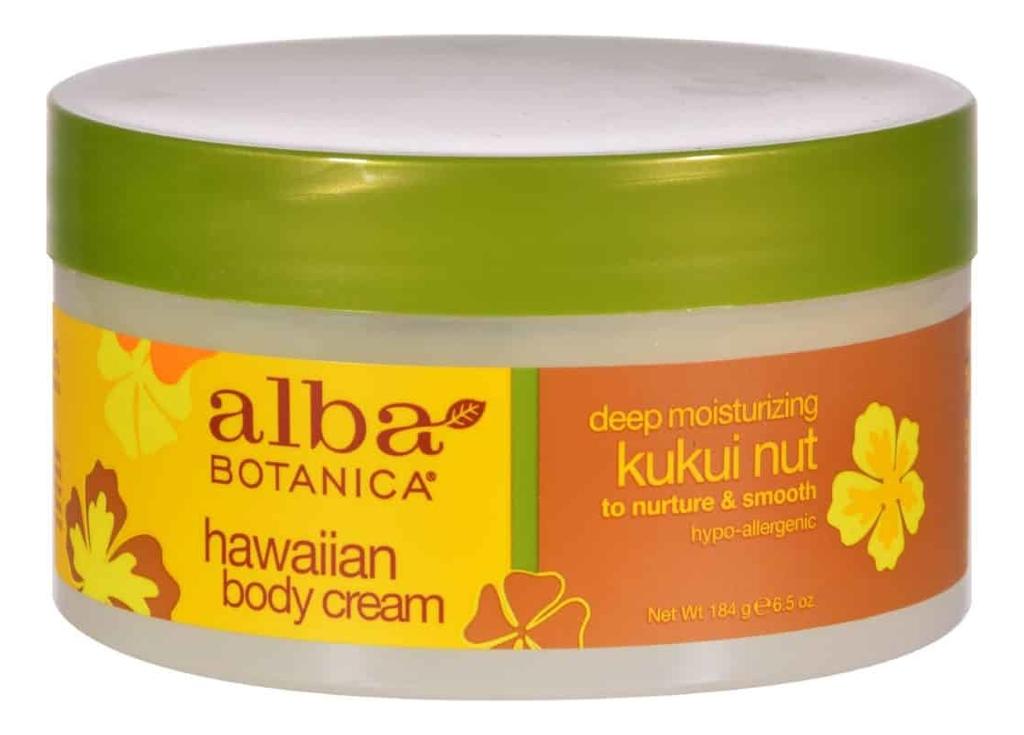 Фото - Увлажняющий крем для тела с маслом кукуйи Hawaiian Body Cream 184г gernetic морской увлажняющий липолитический крем для тела marine body beauty cream 500 мл