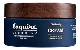 Крем для укладки волос Esquire The Forming Cream Medium Hold Medium Shine 85г esquire помада для волос легкая степень фиксации esquire 85г