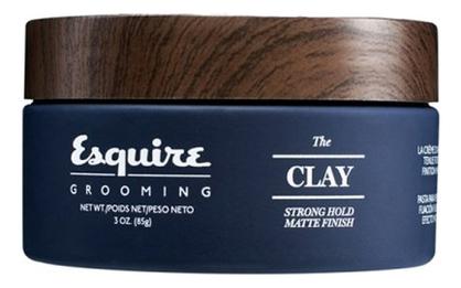 Глина для укладки волос Esquire The Clay Strong Hold Matte Finish 85г esquire помада для волос легкая степень фиксации esquire 85г