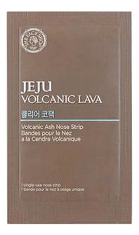 Патч для носа Jeju Volcanic Lava Ash Nose Strip 7шт the face shop jeju volcanic lava aloe nose strip объем 7 шт