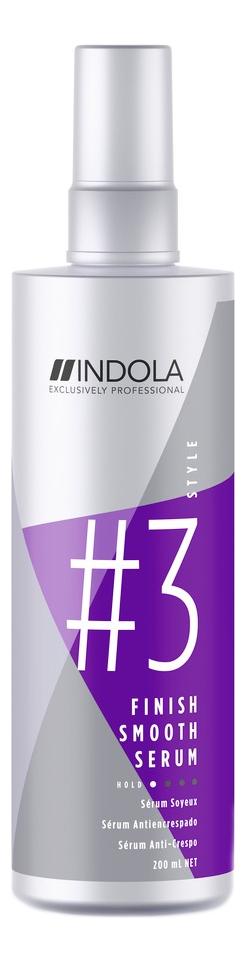 Сыворотка для придания гладкости волосам Innova Smooth Serum Finish: Сыворотка 200мл indola finish gel spray style