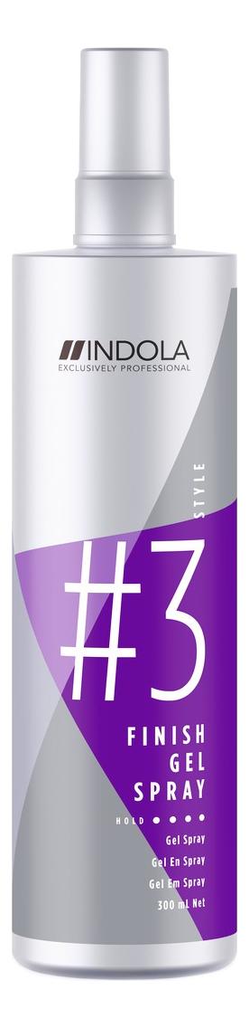 Гель-спрей для волос Innova Finish Gel Spray Style 300мл indola finish gel spray style