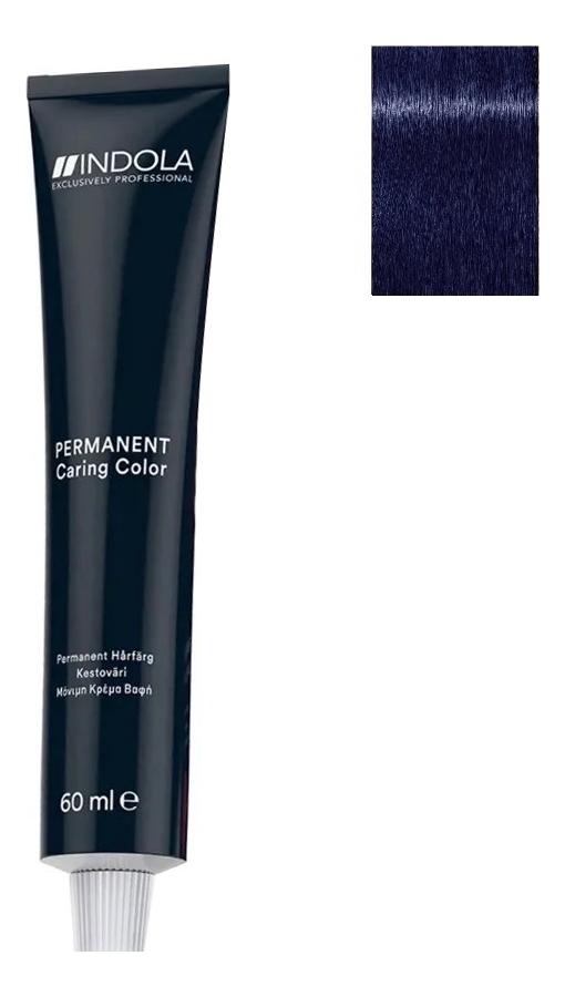 Стойкая крем-краска для волос Permanent Caring Color 60мл: 0.11 Пепельный микстон indola professional перманентная крем краска permanent caring color natural