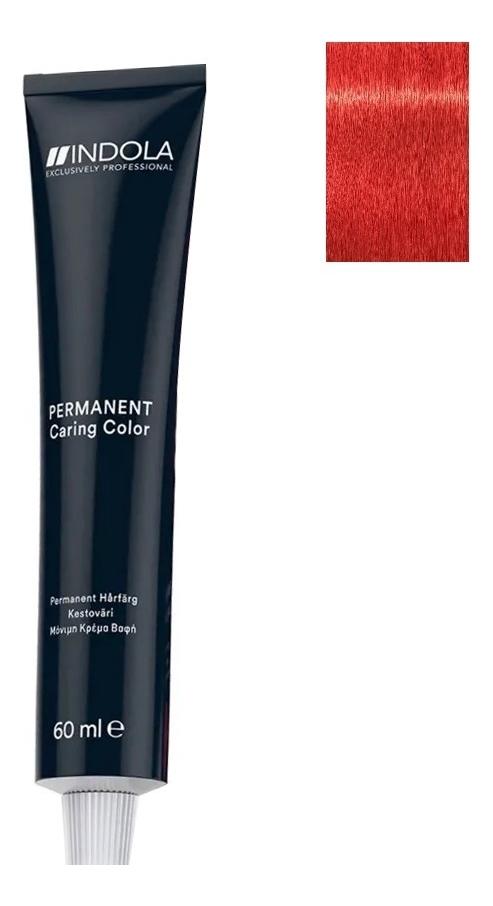 Стойкая крем-краска для волос Permanent Caring Color 60мл: 0.66 Красный микстон indola professional перманентная крем краска permanent caring color natural