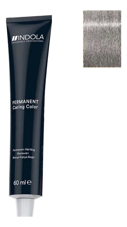 Стойкая крем-краска для волос Permanent Caring Color 60мл: 9.11 Блондин интенсивный пепельный крем краска для волос indola color red