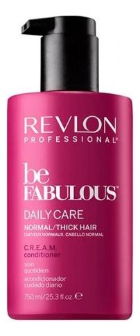 Кондиционер для нормальных и густых волос Be Fabulous Daily Care: Кондиционер 750мл revlon кондиционер для густых и нормальных волос be fabulous 250 мл