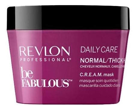Маска для нормальных и густых волос Be Fabulous Daily Care: Маска 200мл revlon кондиционер для густых и нормальных волос be fabulous 250 мл