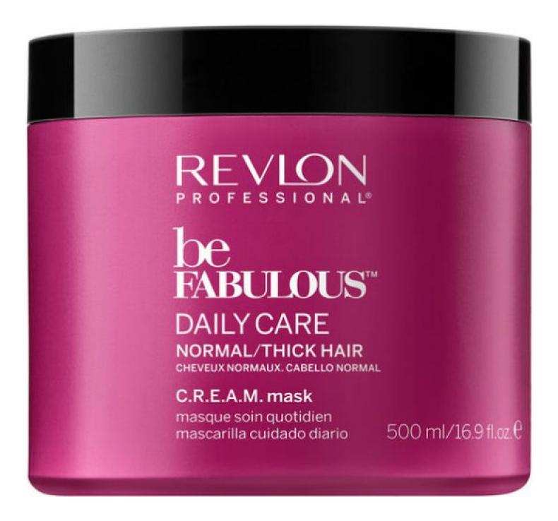 Маска для нормальных и густых волос Be Fabulous Daily Care: Маска 500мл revlon кондиционер для густых и нормальных волос be fabulous 250 мл