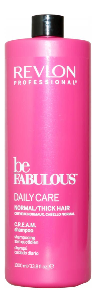 Очищающий шампунь для нормальных и густых волос Be Fabulous Daily Care: Шампунь 1000мл revlon кондиционер для густых и нормальных волос be fabulous 250 мл
