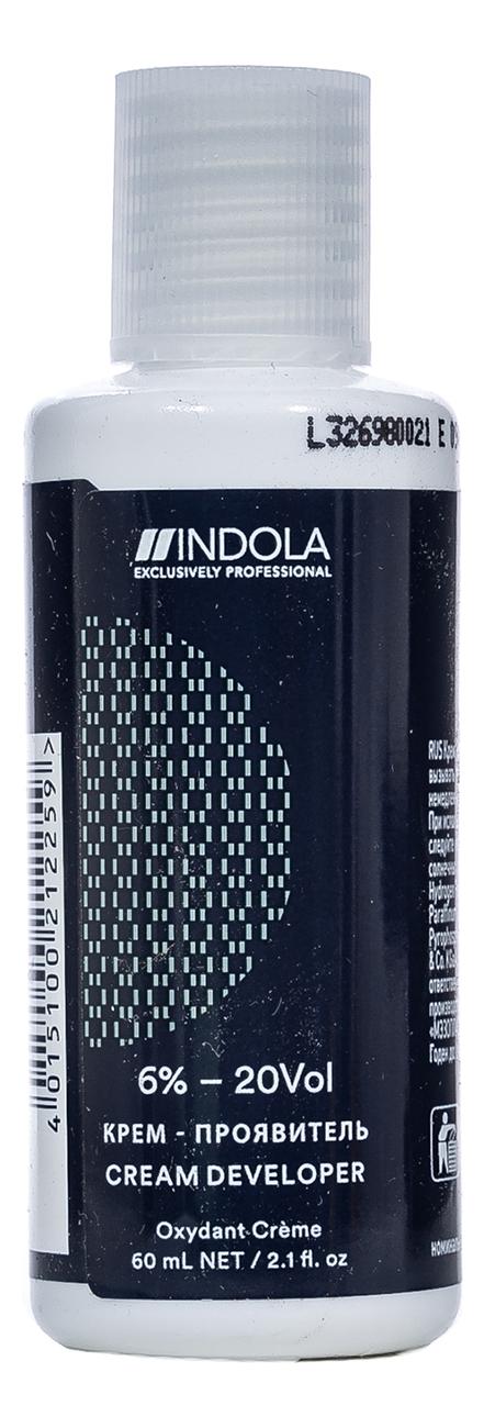 Крем-проявитель для стойкой крем-краски Profession Cream Developer Oxydant Creme 60мл: Крем 6%