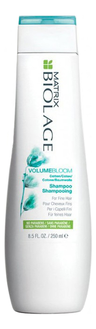 Шампунь для тонких волос Biolage Volumebloom Shampoo: Шампунь 250мл шампунь для тонких волос alter ego italy шампунь для тонких волос