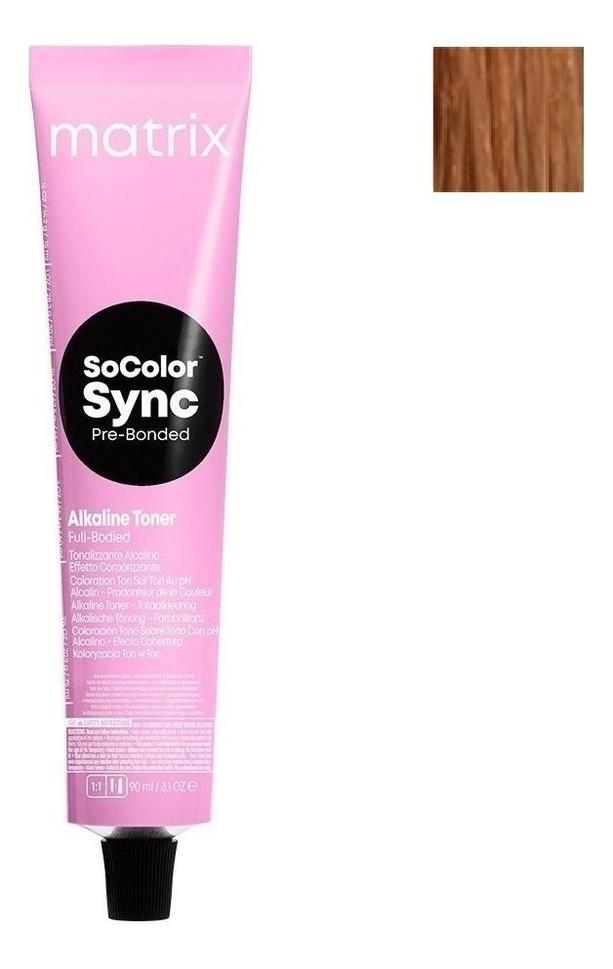 Крем-краска для волос без аммиака Color Sync 90мл: 8CG