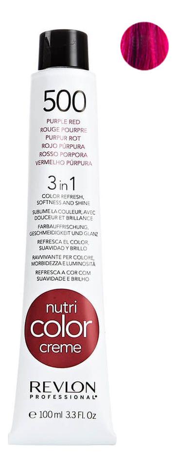 Краска для волос Nutri Color Creme 500 Purple Red: Краска 100мл
