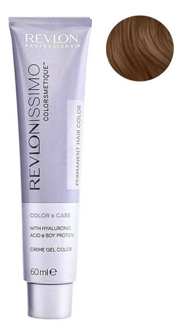 Стойкая краска для волос Revlonissimo Colorsmetique Color & Care 60мл: 8.3 Светлый блондин золотистый l oreal professionnel краска для волос luo color 50 мл 34 шт 8 03 светлый блондин глубокий золотистый
