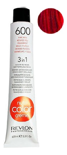Краска для волос Nutri Color Creme 600 Fire Red: Краска 100мл крем краска для волос indola color red