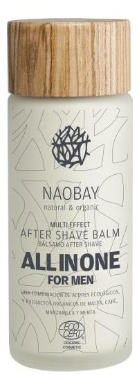 Флюид после бритья All In One Multi Effect After Shave 100мл крем для ухода за кожей naobay ecocert all in one