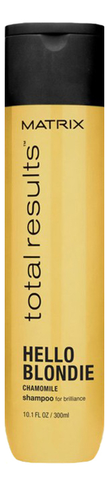 Шампунь для светлых волос с экстрактом ромашки Total Results Hello Blondie Shampoo 300мл клоран шампунь с экстрактом ромашки для светлых волос 200 мл