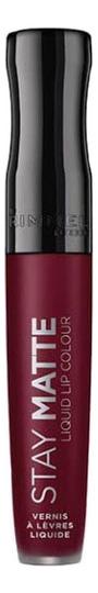 Жидкая матовая помада для губ Stay Matte Liquid Lip Colour 5,5мл: No 810 чехол для сотового телефона samsung galaxy note 8 clear cover violet ef qn950cvegru