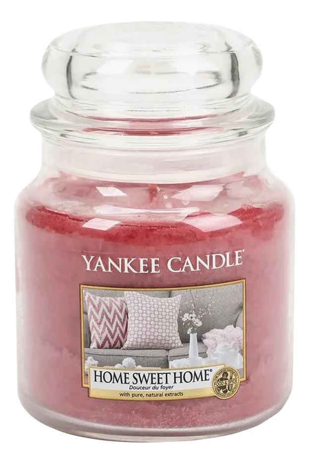 Ароматическая свеча Home Sweet Home: Свеча 411г ароматическая свеча moonlit blossoms свеча 411г