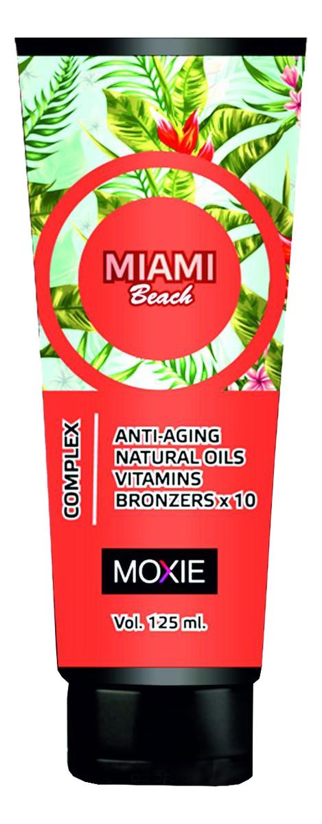 Фото - Крем для загара с 10-кратным бронзатором Miami Beach: Крем 125мл ногтивит усиленный крем 15мл