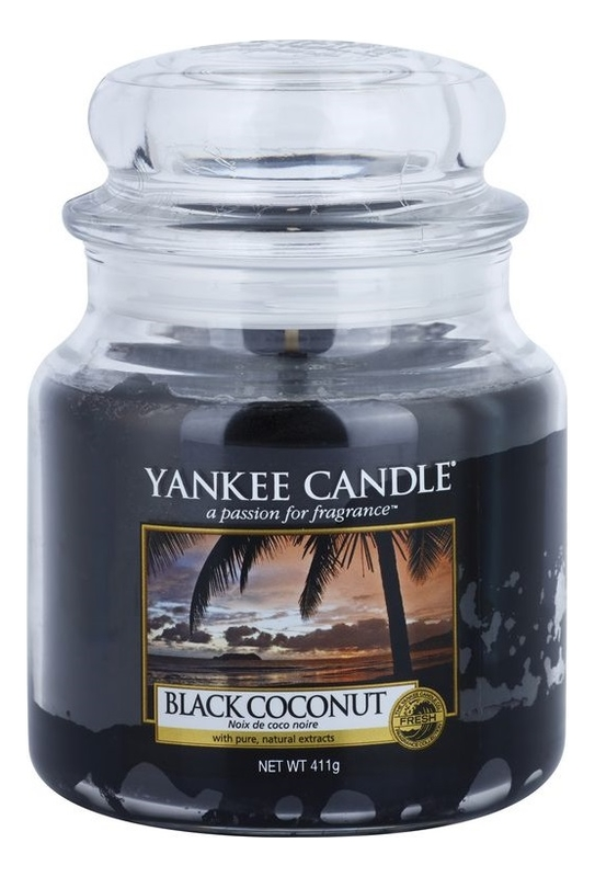 Ароматическая свеча Black Coconut: Свеча 411г ароматическая свеча moonlit blossoms свеча 411г