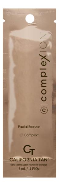цены Крем для загара в солярии Complexion Facial Bronzer: Крем 3мл