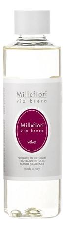 Наполнитель для диффузора Вельвет Via Brera Velvet 250мл диффузор с палочками via brera velvet